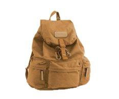 NiceEshop Waterproof Canvas Camera Lens Flash Bag Backpack For DSLR Camera (Khaki)