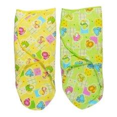 Nifo Kids Bedong Instan Velcrow Kuning Dan Hijau - 2 Buah