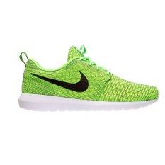Nike Flyknit Rosherun-Volt / Blck-Electric Green-Drk Grey