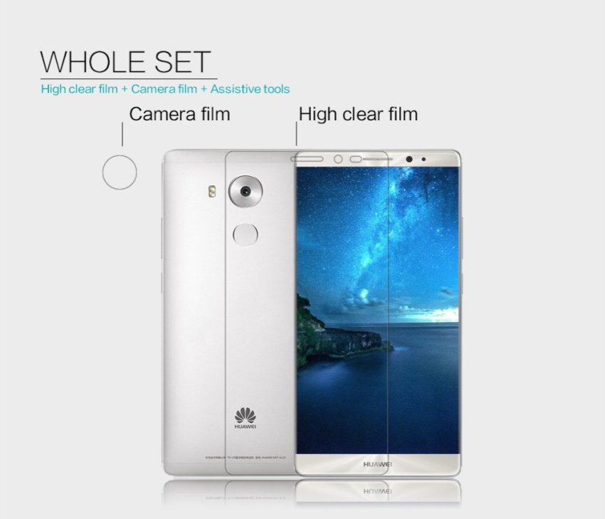 Nillkin Amazing Super Clear Anti- fingerprint Protective Film for Huawei Mate 8 (Clear) (Intl)