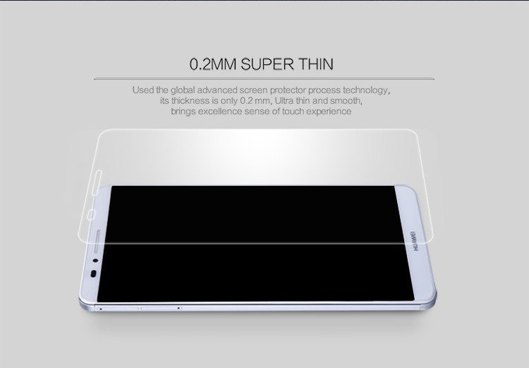Nillkin Clear Amazing H+ Pro Nanometer Anti-Explosion Tempered Glass Screen Protector for Huawei Mate 7 (Intl)
