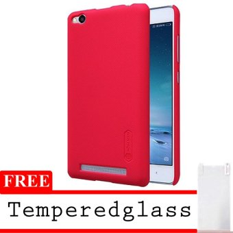 Nillkin Hardcase For Xiaomi Mi5 Super Frosted Shield - Rose + Free Tempered Glas