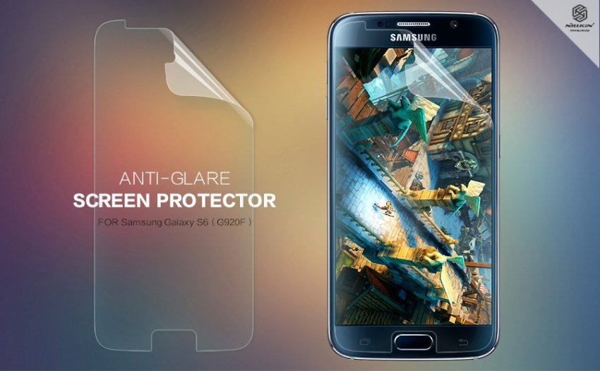 Nillkin Matte Scratch-resistant Protective Film for Samsung Galaxy S6 G920F (Intl)
