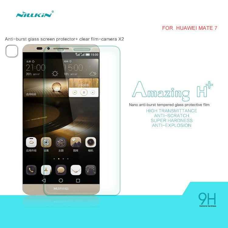 Nillkin Tempered Glass Screen Protector for Huawei Mate 7 (Intl)