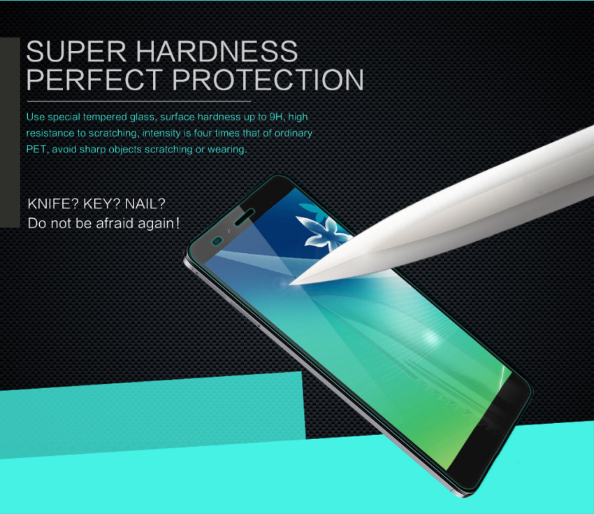 Nillkin Tempered Glass Screen Protector Protective Film for Huawei Honor 5X (Intl)