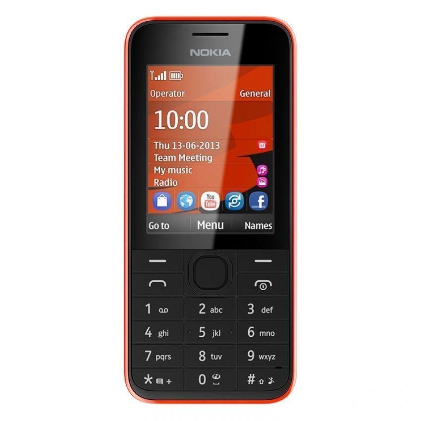 Nokia 208 - Merah