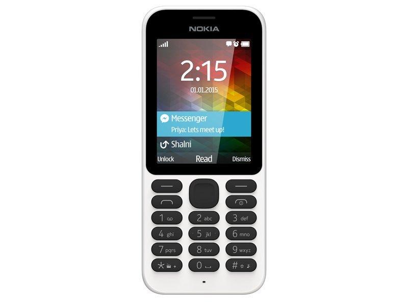 Nokia 215 - Dual Sim - Putih