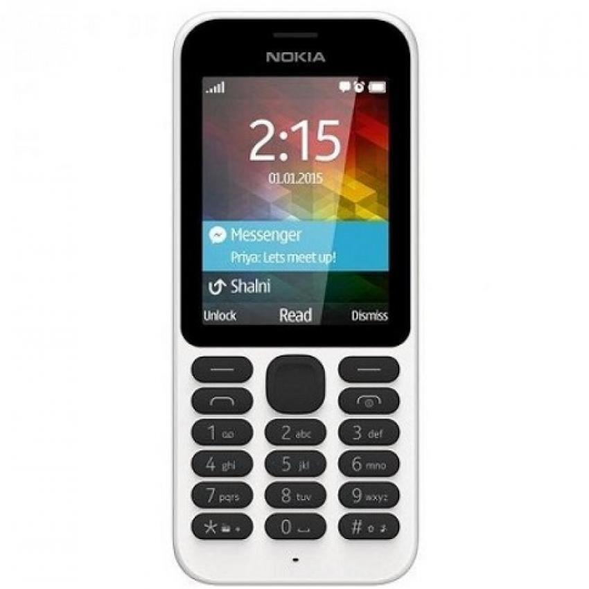 Nokia 222 - Dual Sim - Putih