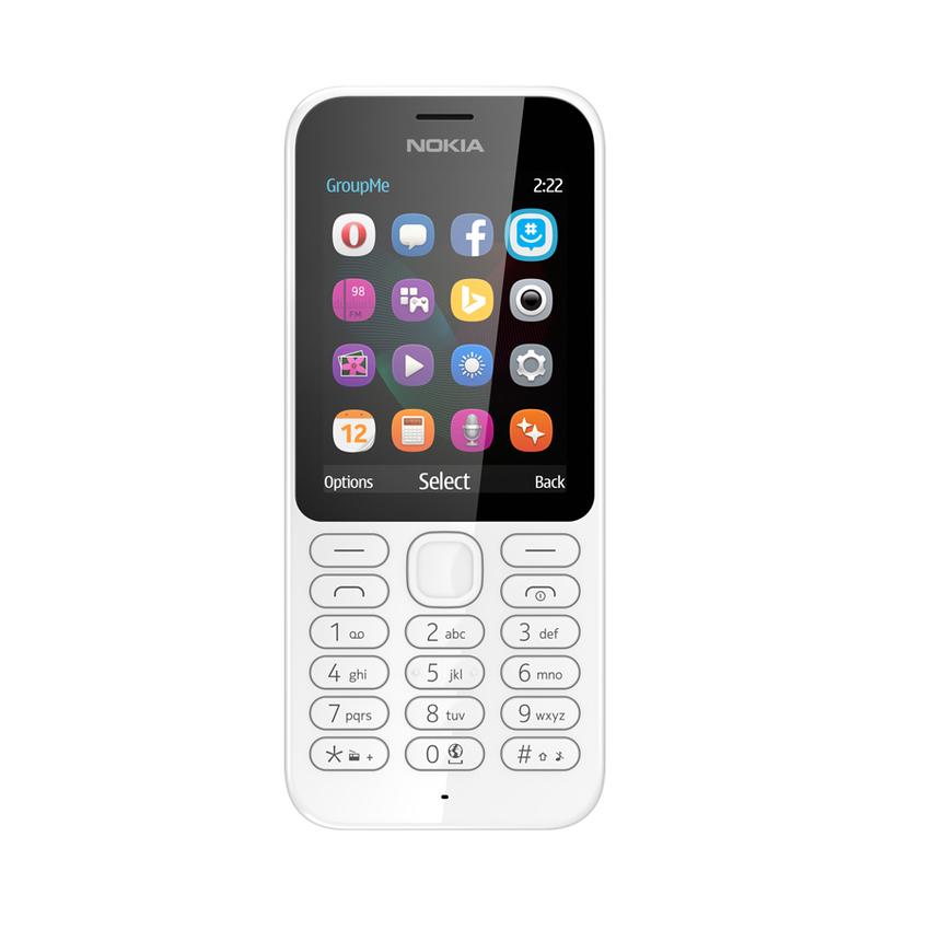 Nokia 222 Dual Sim - Putih