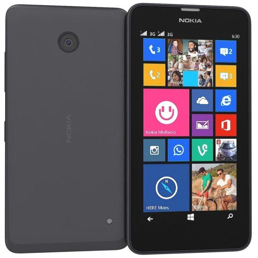 Nokia 530 Dual Sim - 4GB - Hitam