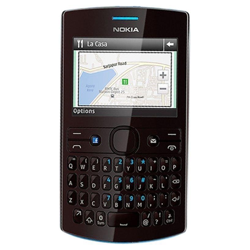 Nokia Asha 205 - Dual GSM - Hitam