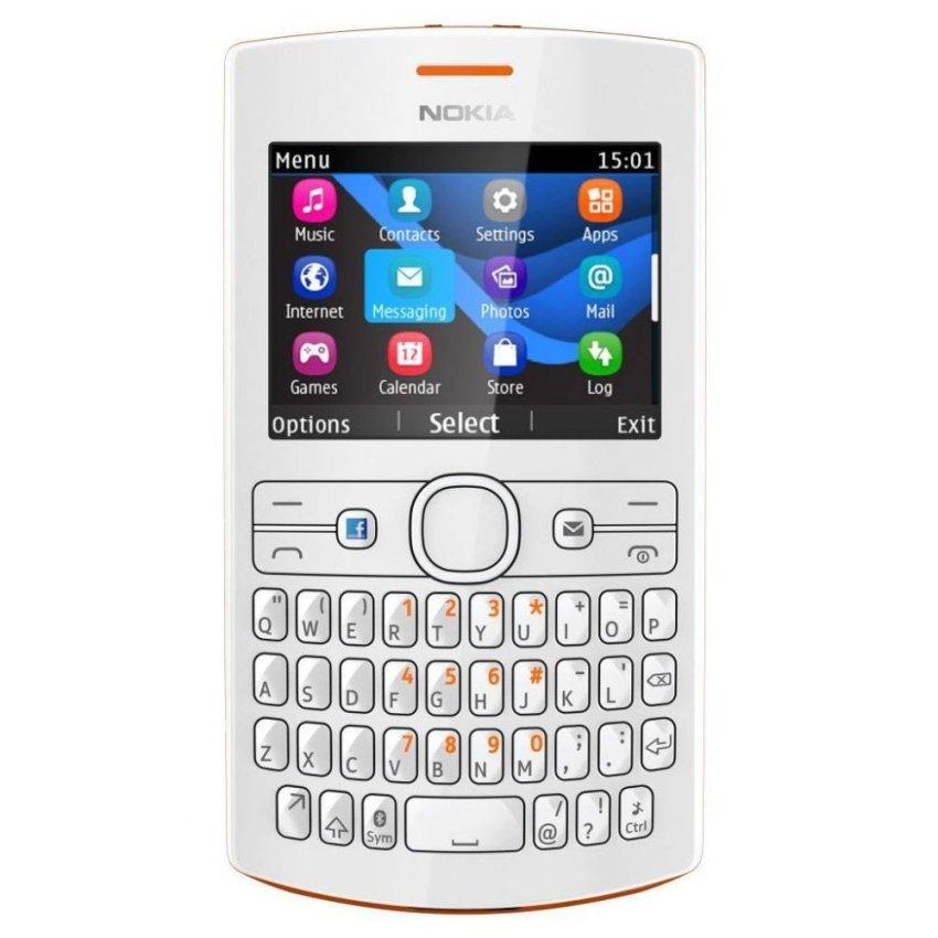 Nokia Asha 205 - Dual GSM - White Orange