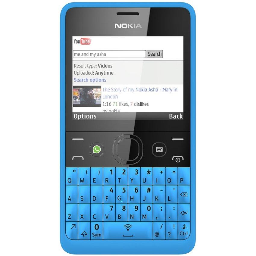 Nokia Asha 210 - Dual GSM - Biru