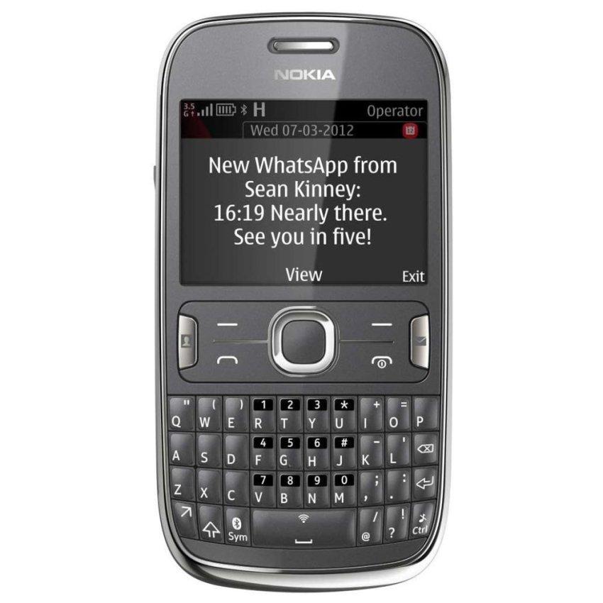 Nokia Asha 302 - Abu-abu Tua