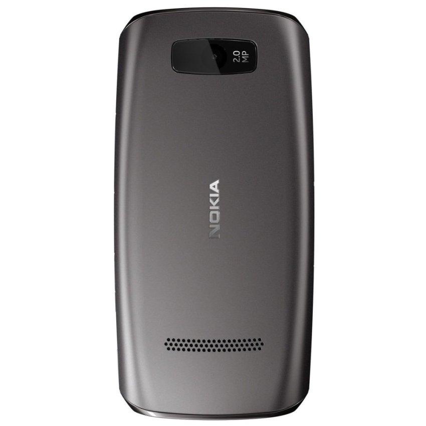 Nokia Asha 306 - Abu-abu