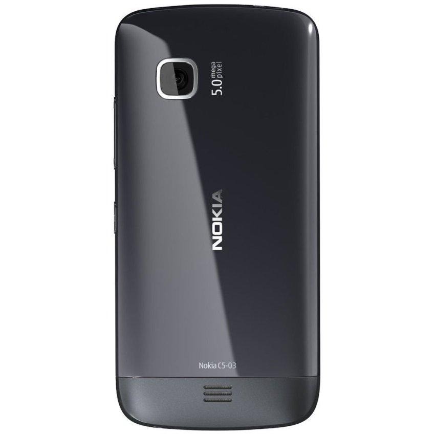 Nokia C5-03 - 40 MB - Hitam