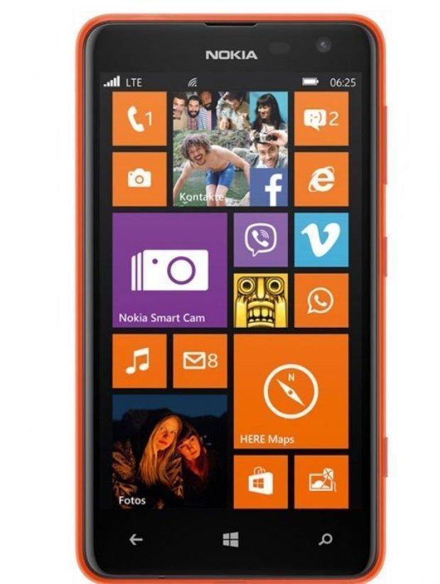 Nokia Lumia 625 8GB Resmi - Orange