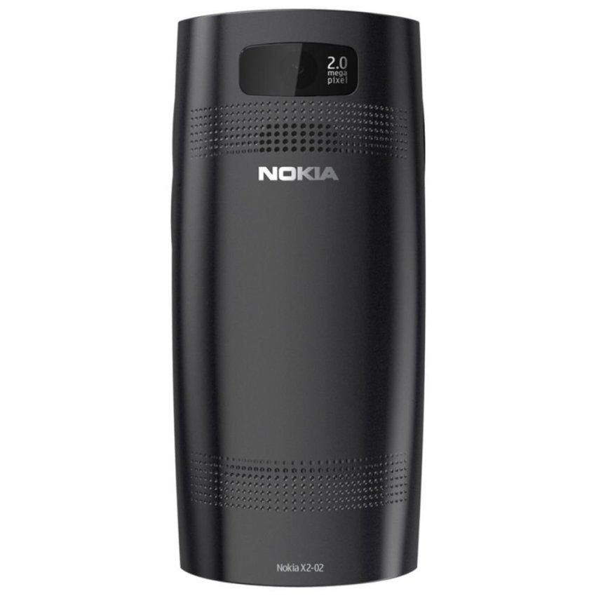 Nokia X2-02 - Dual GSM - Hitam