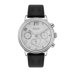 Nonof Julius Julius Fashion Watch Six Pin Calendar Quartz Watch Waterproof Leisure Business Women Love Black And White