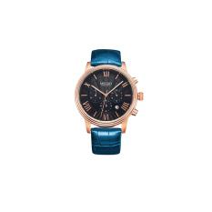 Oanda MEGIR Watch Men Watch Waterproof Genuine Three Large Luminous Dial Sports Watch 2012G (Black)