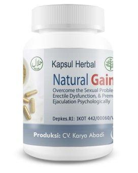 obat herbal pria natural gain obat pria perkasa dengan