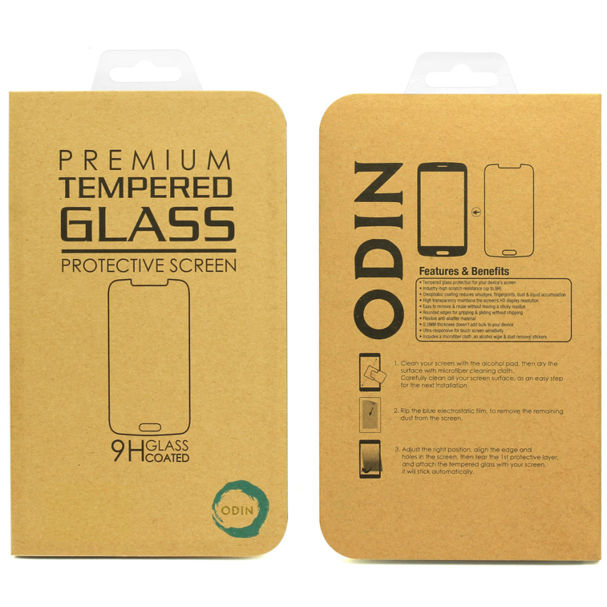 ODIN Oppo R1 Tempered Glass 9H - 0.33mm - Rounded Edge