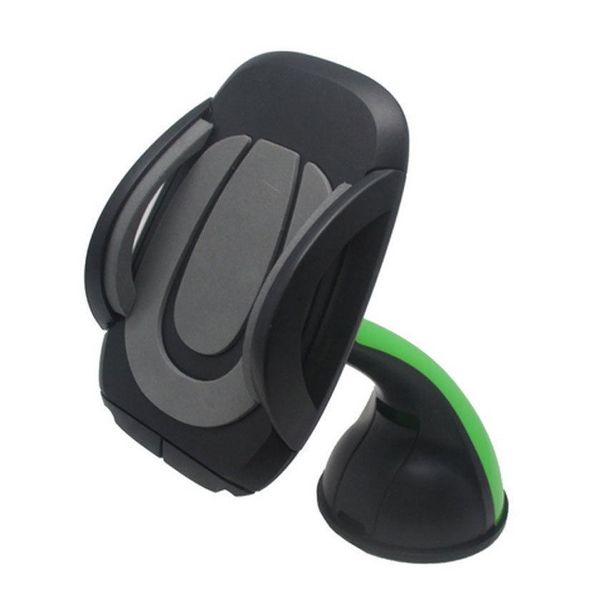 OEM Sport Car Mount Flyer Universal Mobile Holder for Smartphone - Green