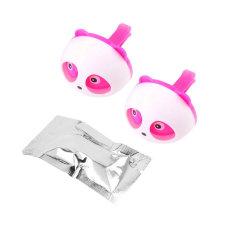 OH Cute Panda Auto Car Air Freshener Clip Perfume Diffuser For Car Home (Pink) (Intl)
