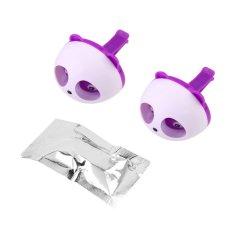 OH Cute Panda Auto Car Air Freshener Clip Perfume Diffuser For Car Home (Purple) (Intl)