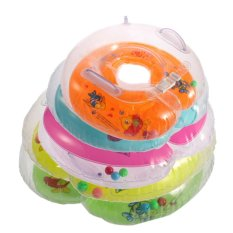 OH New Baby Aids Infant Swimming Neck Float Inflatable Tube Ring Safety