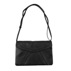 OH Women Lady PU Leather Shoulder Crossbody Envolope Bag Messenger Handbags Black - Intl