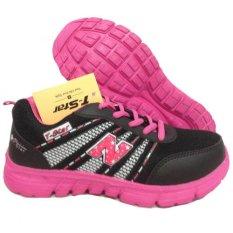 Onemarkets Sepatu Olahraga wanita - Hitam Pink