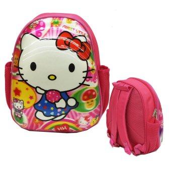 Onlan Hello Kitty 5 Dimensi Tas Ransel Telur Anak Sekolah