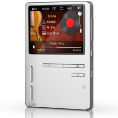 ONN KING-X6 Full Metal HIFI Lossless MP3 Music Player Build With Voice Recorder FM Radio Games Ebook - Intl