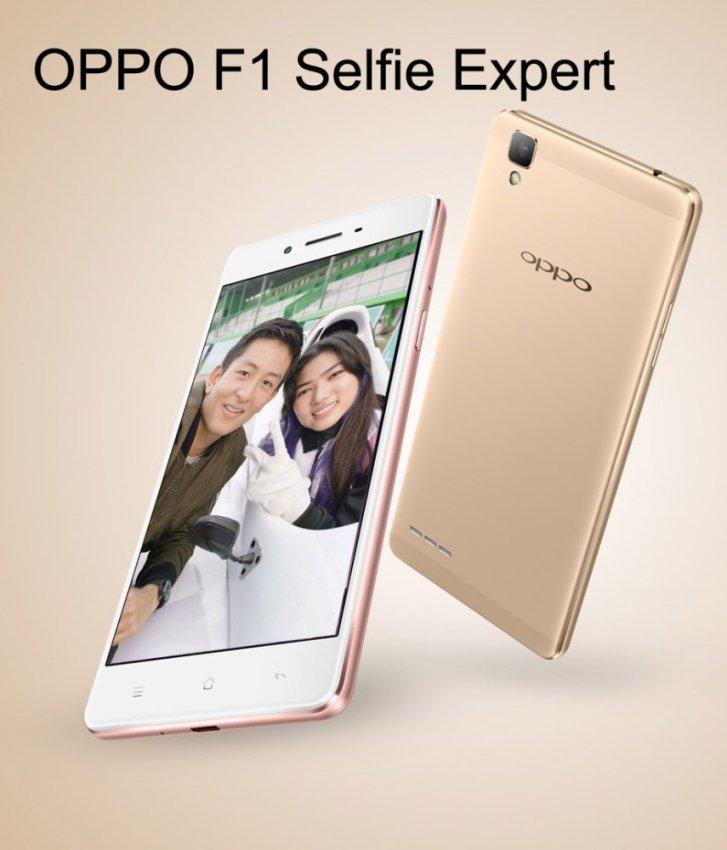 Oppo F1 Selfie Expert - 16GB - Gold