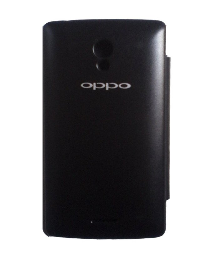 Oppo Joy Flip Cover - Hitam