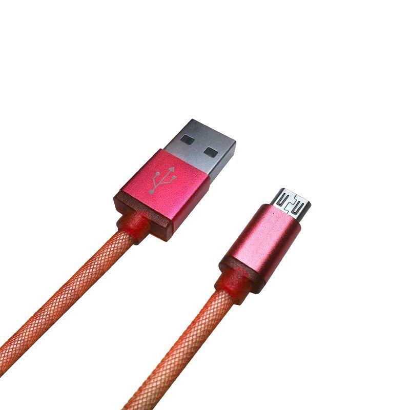 Optimuz Cable Network Micro USB - Merah