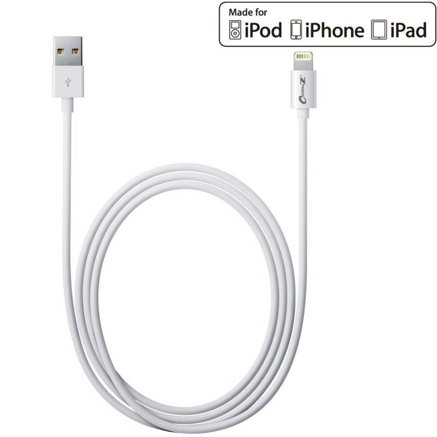 OptimuZ Kabel Lightning 8-pin i5 Apple MFI Certified - 1M - Putih