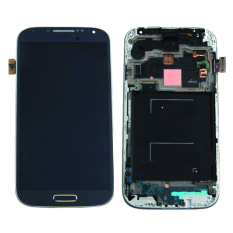 Original For Samsung Galaxy S4 I9500 LCD Display + Touch Screen Digitizer Assembly With Frame Black Color - Intl
