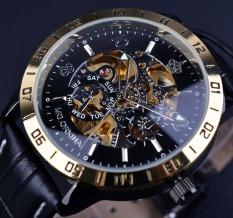Orkina Retro Skeleton Design Small Dial Decoration Mens Top Brand Luxury Automatic Watch Luxury Watch - Intl