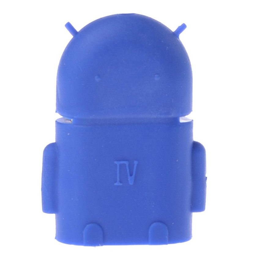 OTG Adapter Cable for Android System Phones and Tablets (Blue) (Intl)