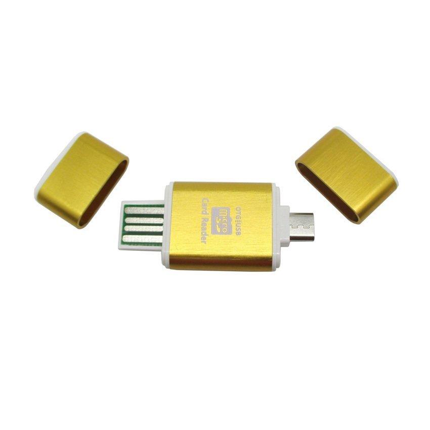 OTG Smart Card Reader Connection Kit - MUO-06 - Golden