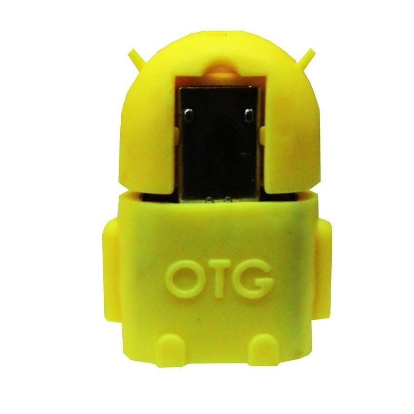 OTG USB Converter Micro Female - Kuning