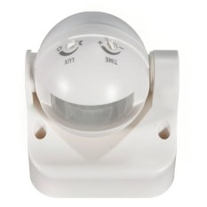 Outdoor 180 Degree Security PIR Motion Sensor Detector Switch White (Intl) (Intl)