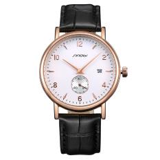 Oxoqo Sinobi New Authentic Thin Male Table Fashion Watches, Men's Belt Strap Calendar Watch
