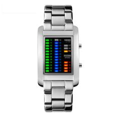 Oxoqo When Men Creative Personality Watch Skmei Waterproof Fashion Electronic Watch Student's Watch