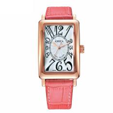 Oxoqo With Women's Watch Fashion Watch Waterproof Watch [] A Genuine New Fashion Leisure Leather Amica