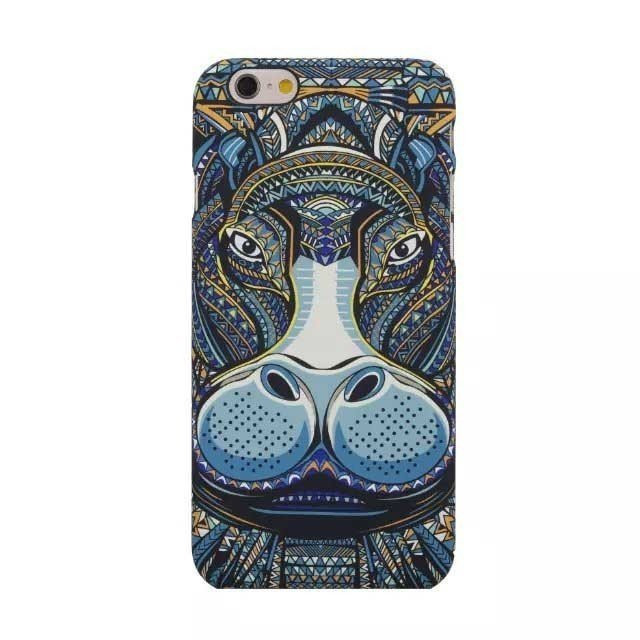 Painting Case for iPhone 5/5S (Multicolor)