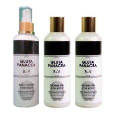 Panacea Body Shower Gel & 1 Lotion Gluta Panacea - 1 Paket