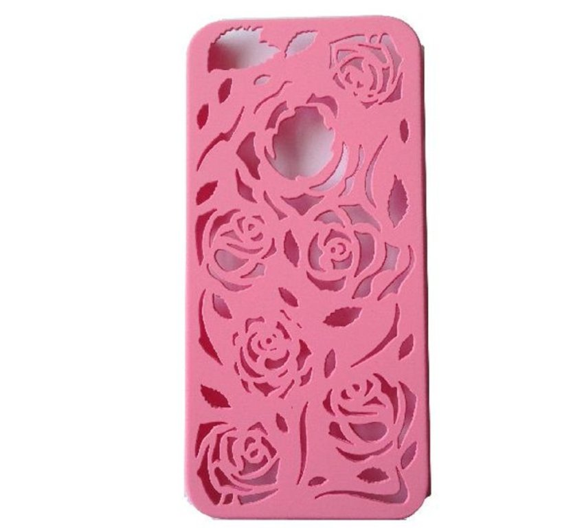 Parodoff ROSE CASE for iPhone SE / 5S / 5 - Softpink